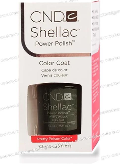 CND SHELLAC -  Pretty Poison 0.25oz.