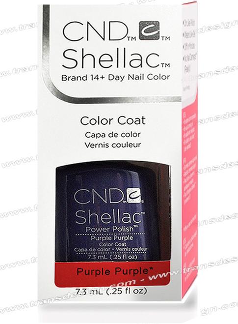 CND SHELLAC - Purple Purple 0.25oz.