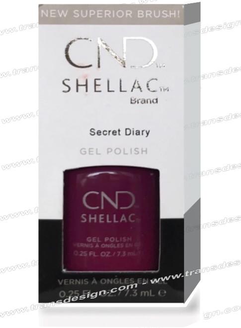 CND SHELLAC - Secret Diary 0.25oz.