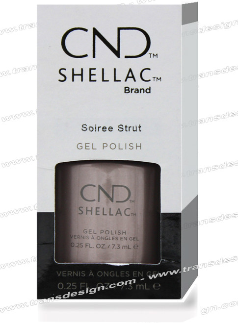 CND SHELLAC - Soiree Strut 0.25oz.