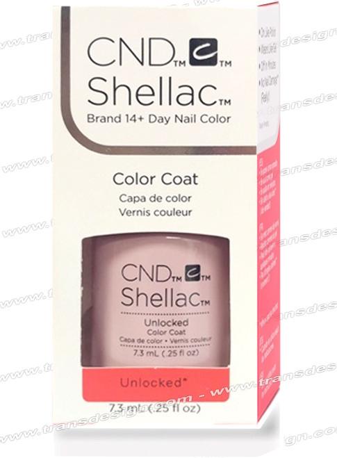 CND SHELLAC - Unlocked  0.25oz.