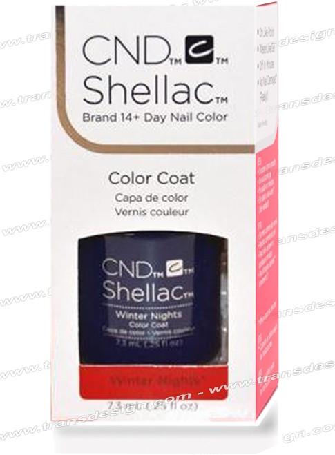 CND SHELLAC - Winter Nights 0.25oz.
