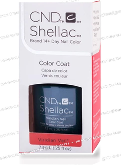 CND SHELLAC - Viridian Veil 0.25oz. *