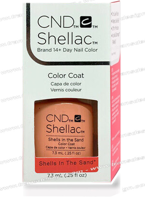CND SHELLAC - Shells In The Sand 0.25oz.