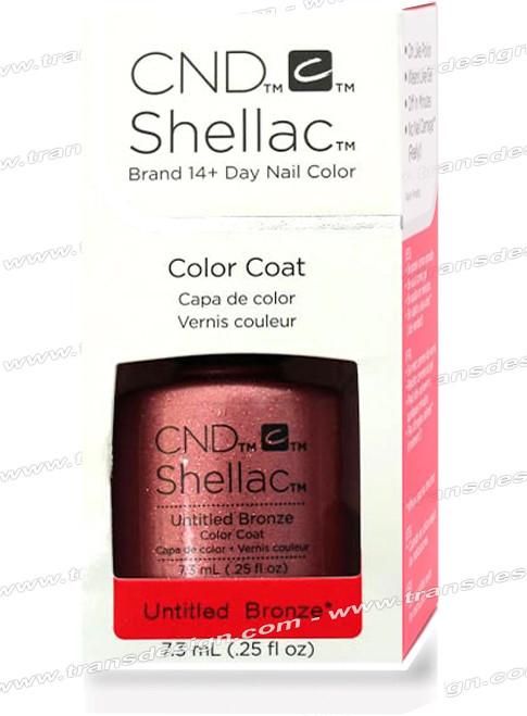 CND SHELLAC - Untitled Bronze 0.25oz.