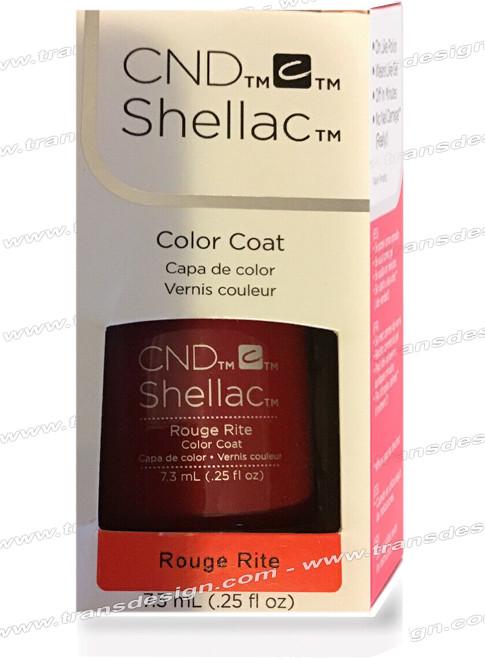 CND SHELLAC - Rouge Rite 0.25oz.