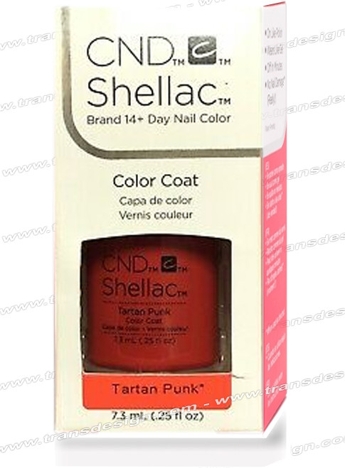 CND SHELLAC - Tartan Punk 0.25oz.
