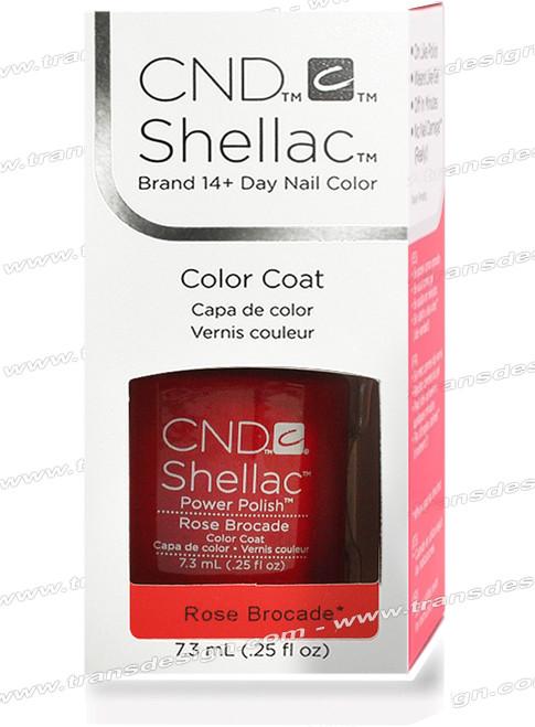 CND SHELLAC - Rose Brocade 0.25oz.