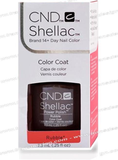 CND SHELLAC - Rubble 0.25oz.