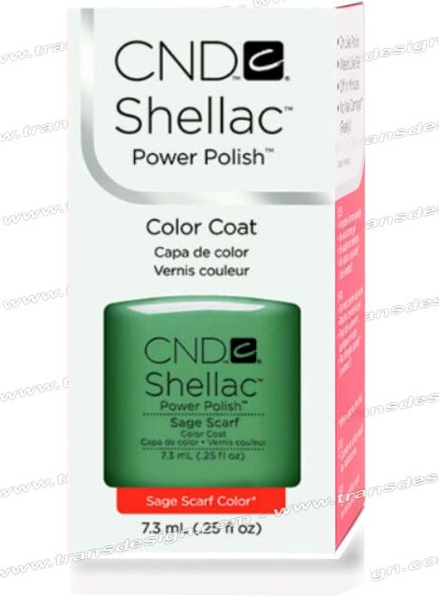 CND SHELLAC - Sage Scarf 0.25oz.