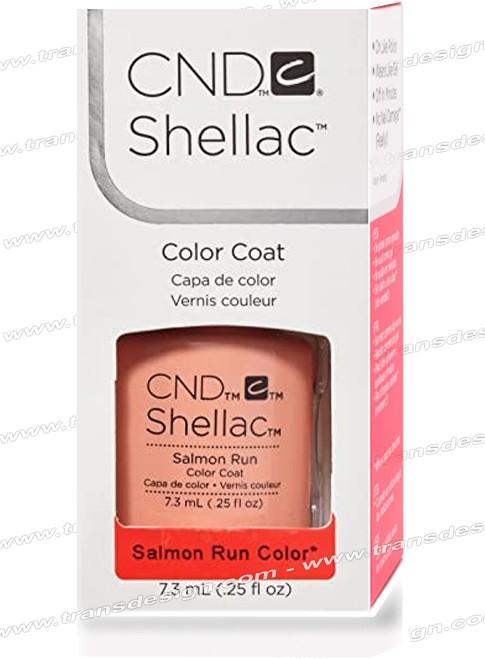 CND SHELLAC - Salmon Run 0.25oz.