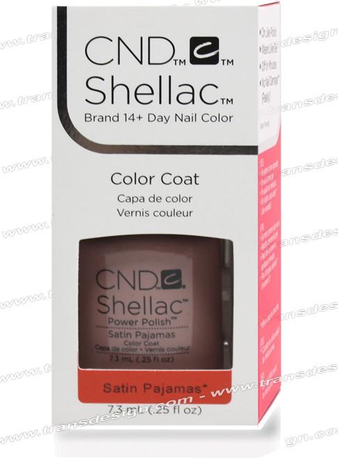 CND SHELLAC - Satin Pajamas 0.25oz.