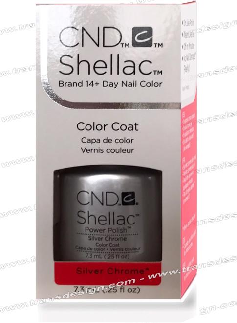 CND SHELLAC - Silver Chrome 0.25oz.