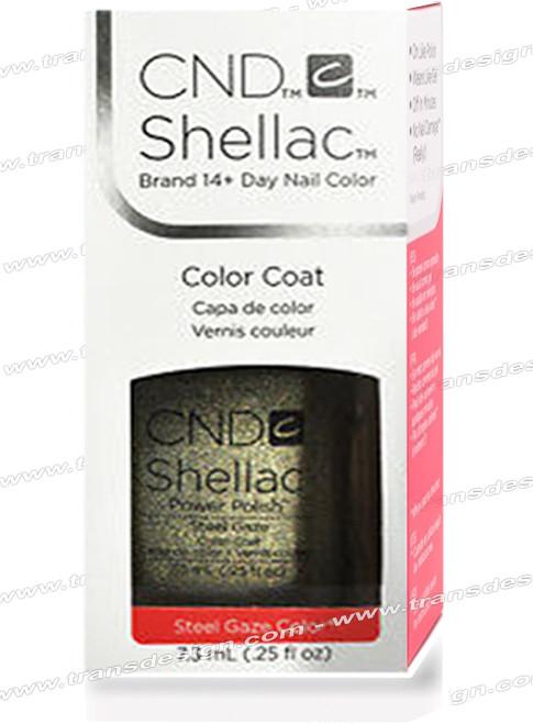 CND SHELLAC - Steel Gaze 0.25oz.*
