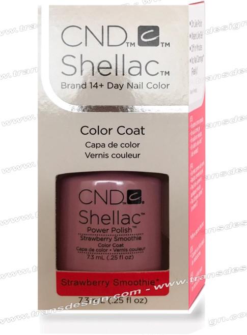 CND SHELLAC - Strawberry Smoothie 0.25oz.