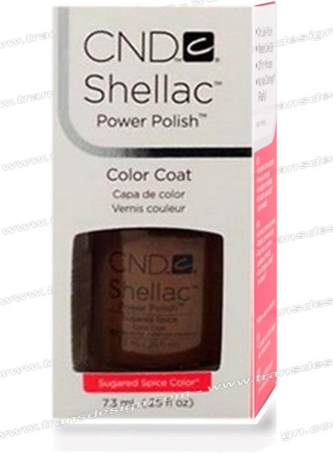 CND SHELLAC - Sugared Spice 0.25oz.
