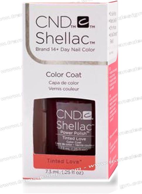 CND SHELLAC - Tinted Love 0.25oz.