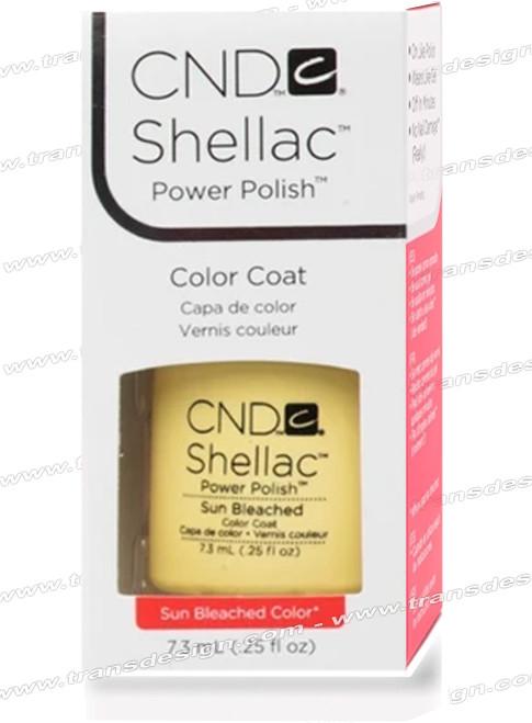 CND SHELLAC - Sun Bleached 0.25oz.*