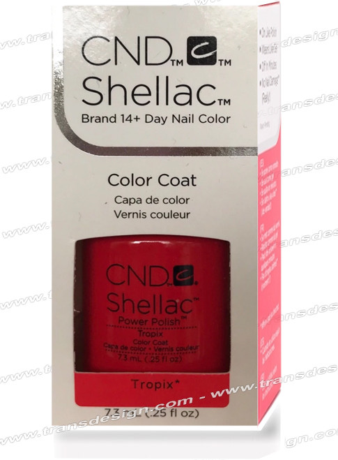CND SHELLAC - Tropix 0.25oz.