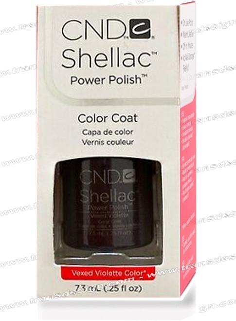 CND SHELLAC - Vexed Violette 0.25oz.*
