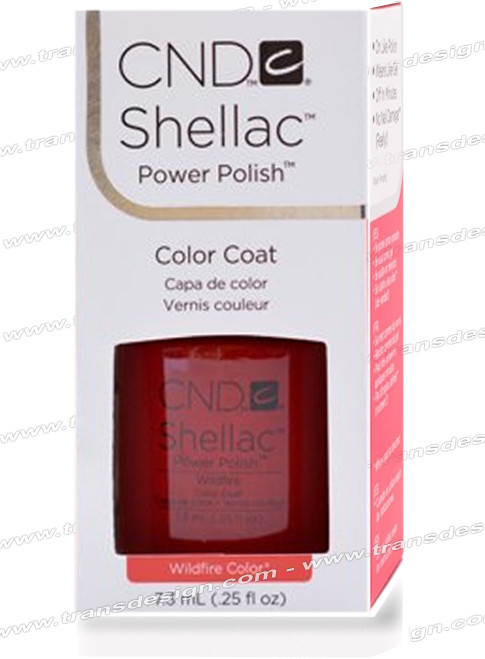 CND SHELLAC - Wildfire 0.25oz.