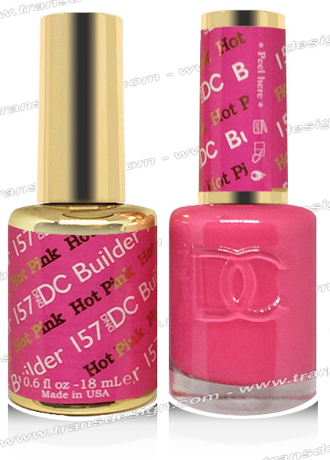 DND DC DUO GEL -  Hot Pink