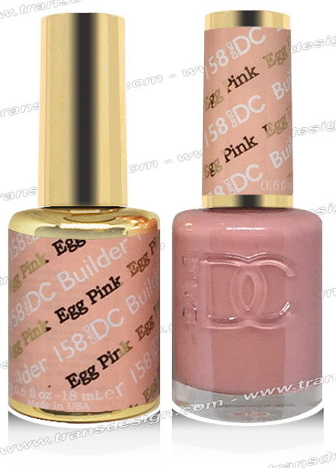 DND DC DUO GEL -  Egg Pink