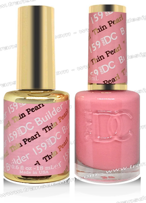 DND DC DUO GEL -  Thin Petal