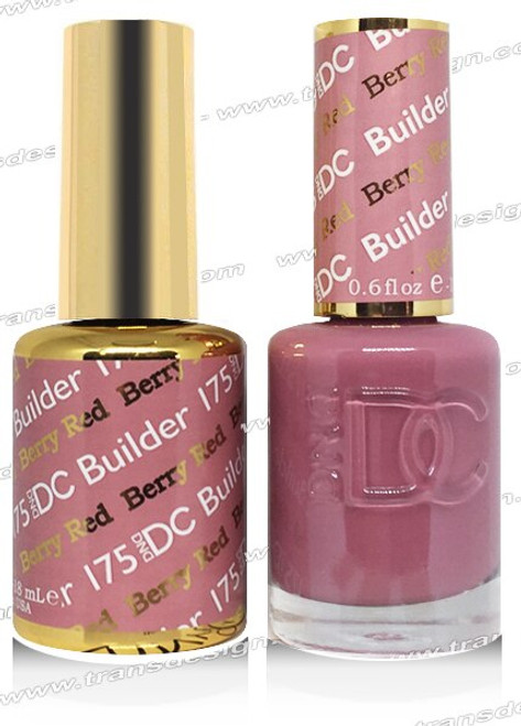 DND DC DUO GEL -  Berry Red