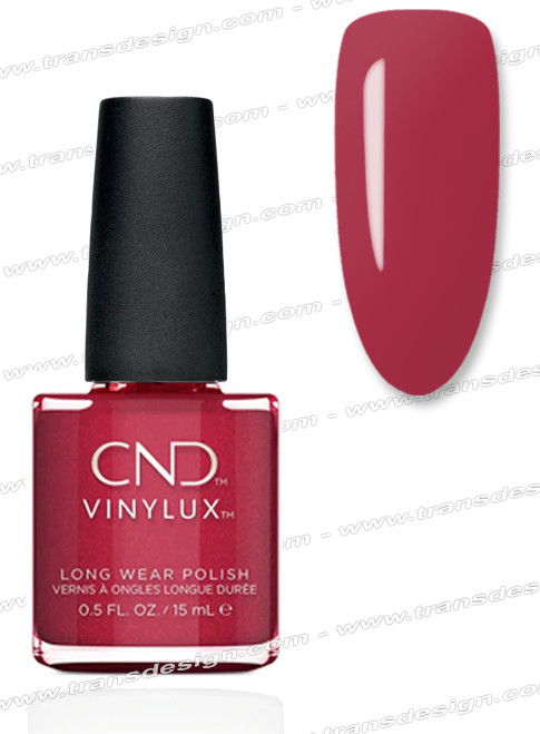 CND Vinylux - Kiss Of Fire 0.5oz.