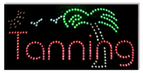 LED SIGNS - TANNING/PALM TREE with 3 Colors ( Pick Up Only )