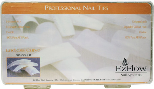 EzFlow - Endless Curve Tips 500/Pack