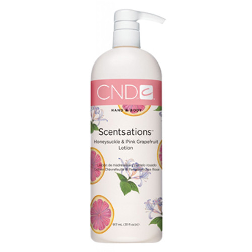 CND Lotion - Honeysuckle & Pink Grapefruit 31oz