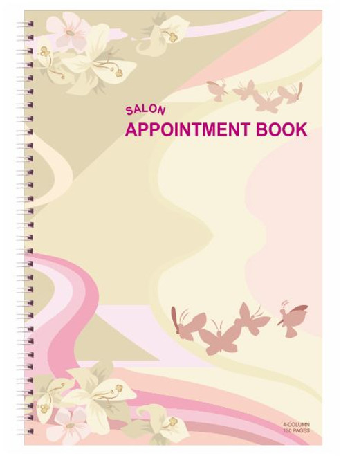 Appointment Book - 4 Columns