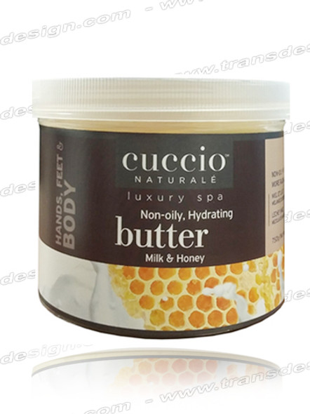 CUCCIO-Non-oily, Hydrating Milk & Honey Butter 26oz.