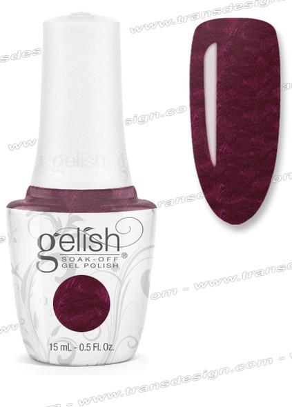 GELISH Gel Polish - Black Cherry Berry 0.5oz.