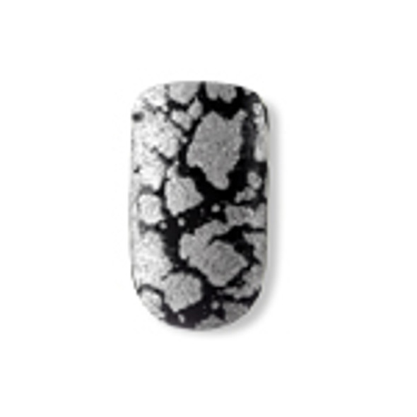 Dashing Diva - Metallic Crackle Nails - Heavy Metal *