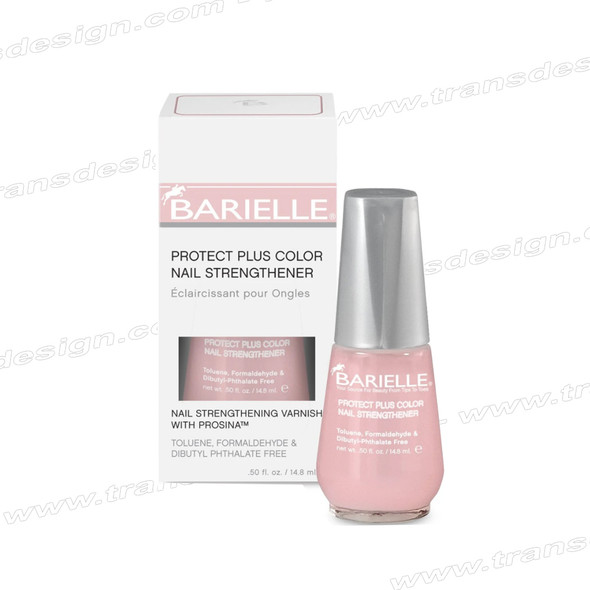 Barielle - Protect Plus Color Nail Strengthener 0.5oz [ Dark Pink ]