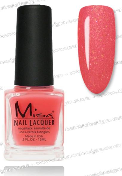 Misa Nail Lacquer - Pink Cadillac 0.5oz