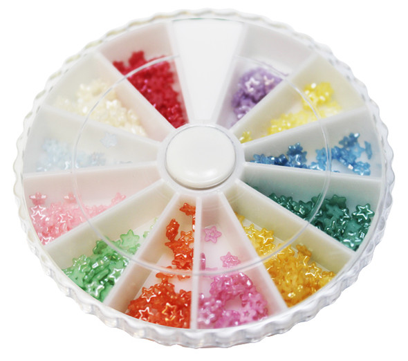 Nail Special Star Pearl 12 colors/Box