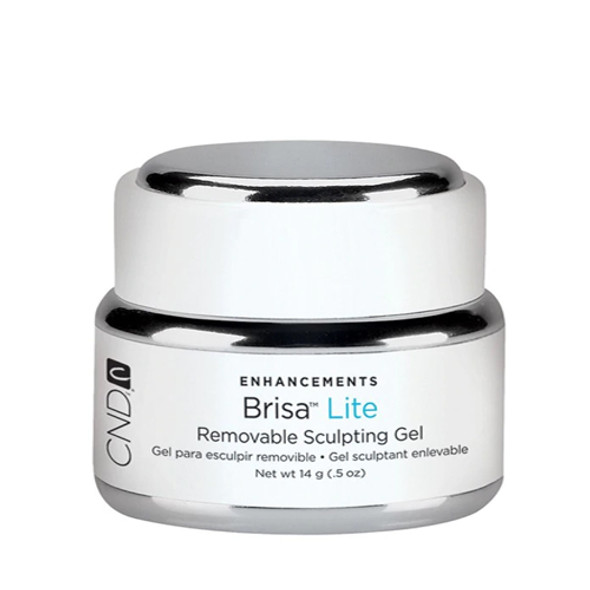 CND BRISA - Pure White Opaque (Lite) Sculpting Gel 0.5oz.