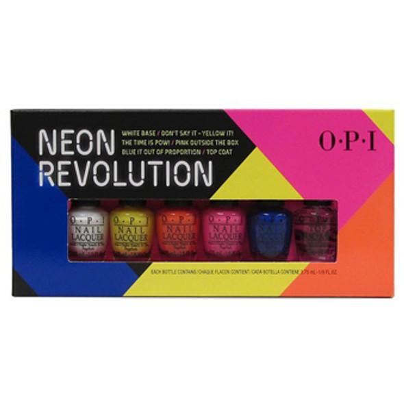 OPI MINI - Neon Revolution Mini 6/Pack *