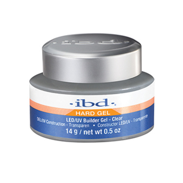 IBD Builder Clear LED/UV Gel 0.5oz.