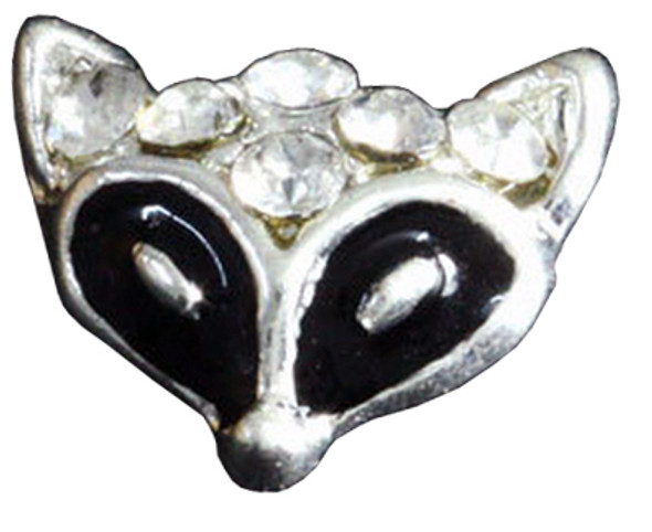 3D Crystal Black Fox 20/pk