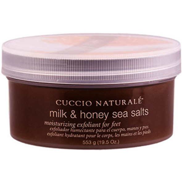 Cuccio-Milk & Honey Sea Salt Scrub 19.5oz.
