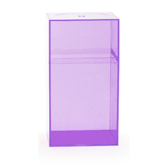 Clear Amac Boxes Lavender 25/Box