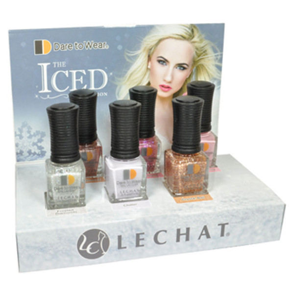 LECHAT The ICED Collection (Mini Polish) 6/Pack
