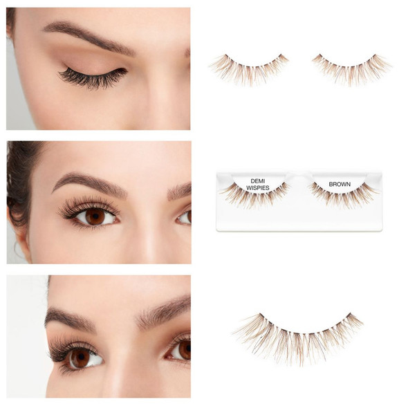 ARDELL - Invisiband - Demi Wispies (Brown) *