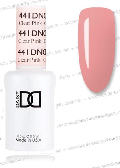 DND Gel  - Clear Pink