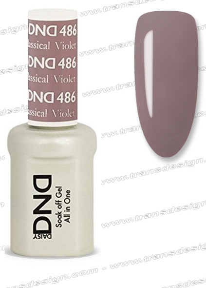 DND Gel Duo - Classical Violet